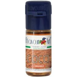 E-liquide Coco - saveur fruitée-boite de 9