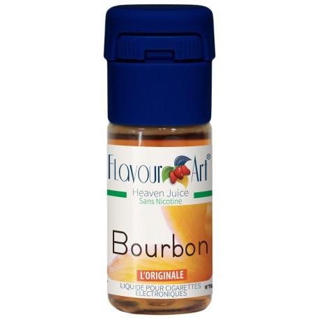 E-liquide Bourbon - saveur fruitée-boite de 9