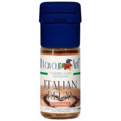 E-liquide Italian Relax - saveur gourmande-boite de 9