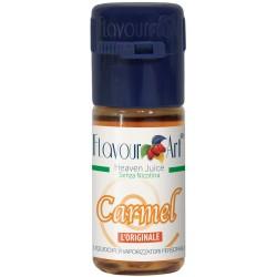 E-liquide Carmel - saveur gourmande lot de 10 flacons de 10ml