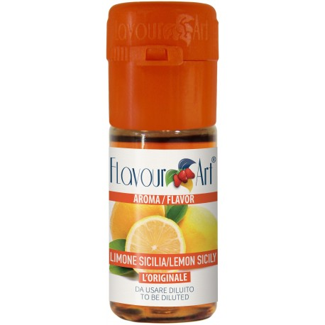 Arôme concentré Citron de sicile saveur fruitée-10ml