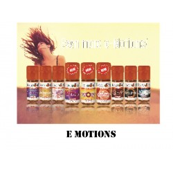 Arômes gamme e-motion